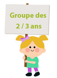 groupe 2 a 3 ans