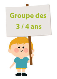 groupe 3 a 4 ans