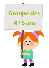 groupe 4 a 5 ans