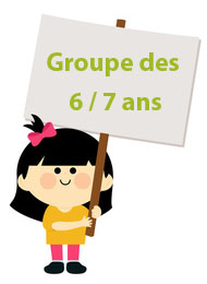 groupe 6 a 7 ans